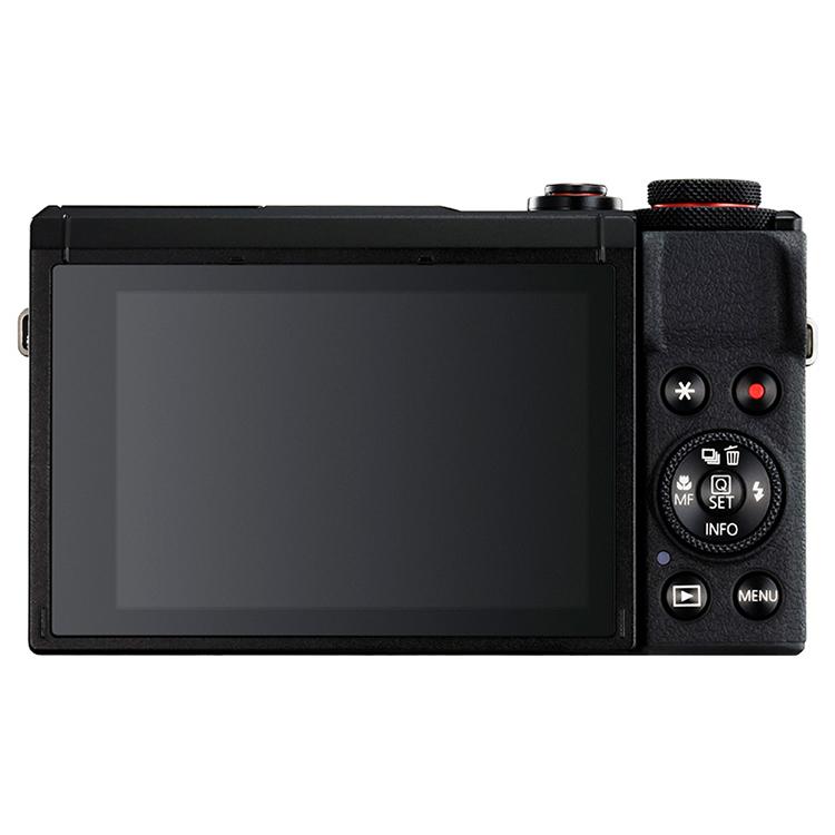 佳能(Canon)PowerShot G7 X Mark III 数码相机卡片机 vlog G7X3黑色
