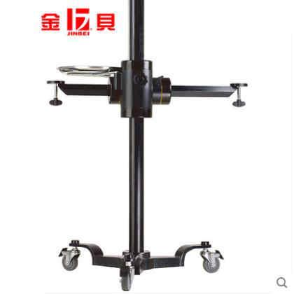 金贝JB200摄影摄像重型相机升降大型单反拍摄架定位架影视滑轨架专业可移动三脚架带滑轮升格拍摄架