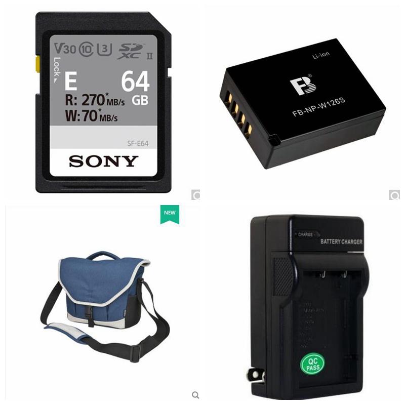 索尼64G高速卡,包,电池,充电器套装