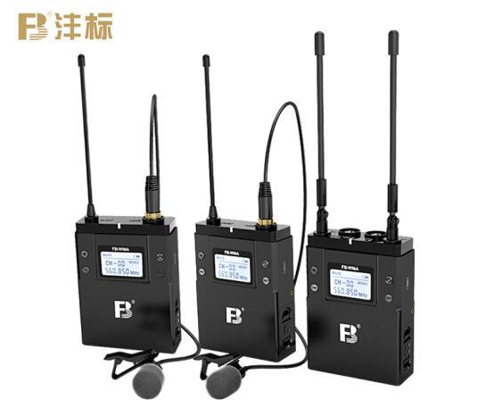 沣标(FB) 无线话筒小蜜蜂 FB-WMA 领夹式无线麦克风 手机直播设备 可用于索尼微单 (WMA-1TX-U)一拖一
